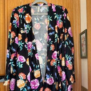Emerald Brand Woman's Kimono Cardigan
